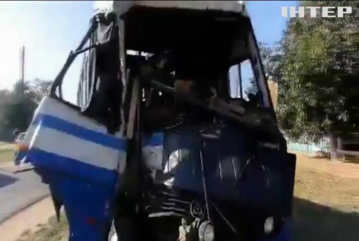 На Одещині зіштовхнулися пасажирські мікроавтобуси: є постраждалі