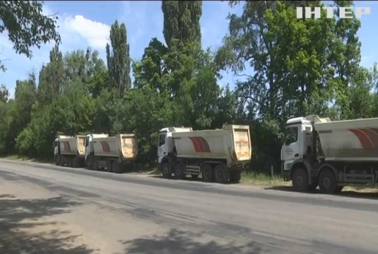 У Києві обмежили в'їзд вантажівок з боку Борисполя
