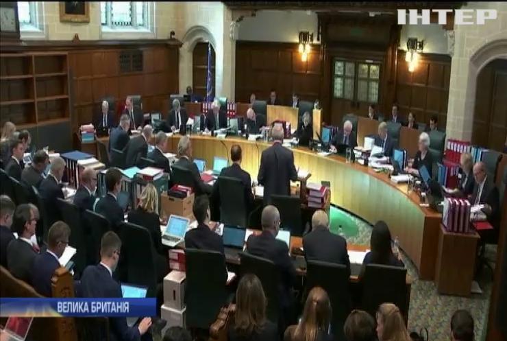 Зловживання владою та брехня: суд Британії розпочав слухання справи Бориса Джонсона