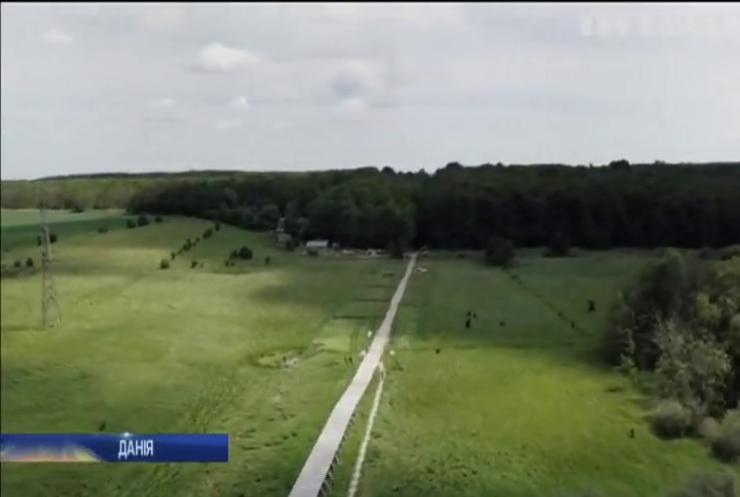 У Данії побудували міст за технологіями вікінгів