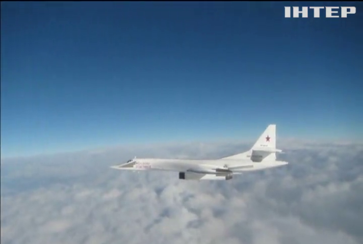 """Винищувачі НАТО перехопили російські стратегічні бомбардувальники """"Ту-160"""""""