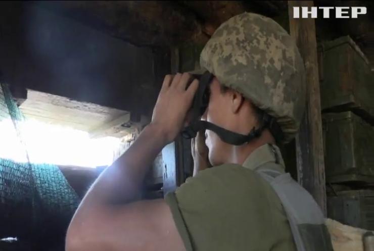 На Донбасі зафіксували п'ять обстрілів