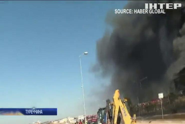 У Туреччині злетів у повітря завод