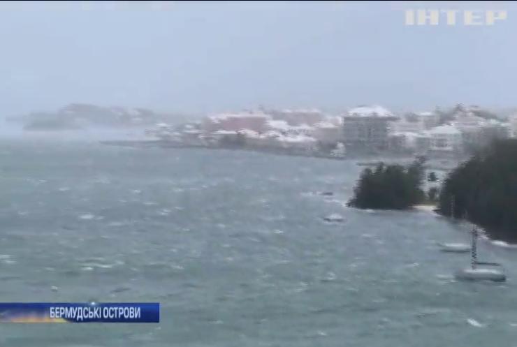 Бермудські острови накрило новим ураганом