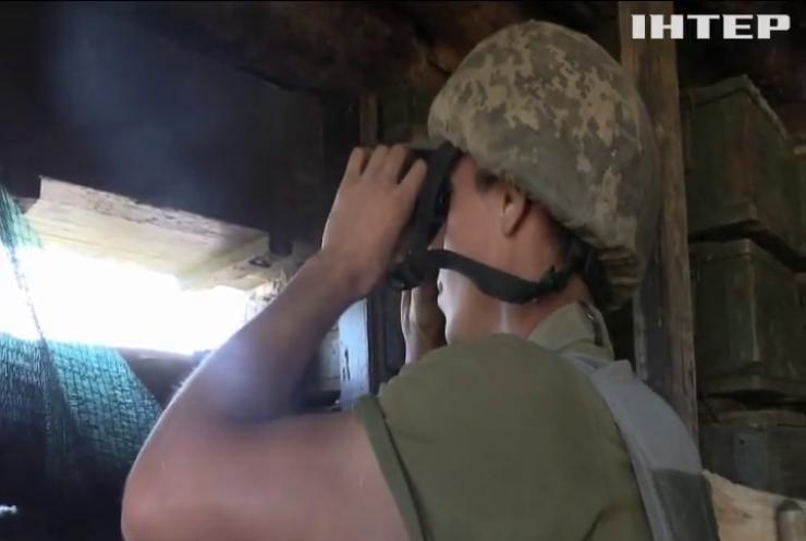 На Донбасі військові вели вогонь із гранатометів