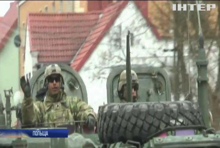 США посилюють військову присутність у Польщі