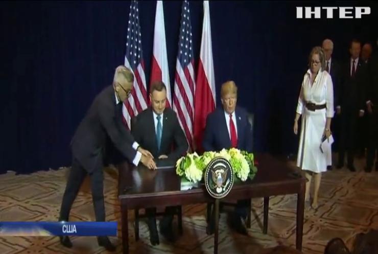 США розширюють контингент у Польщі