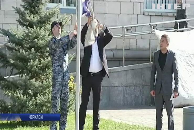 "Штурману катера ""Нікополь"" вручили прапор ВМС України"