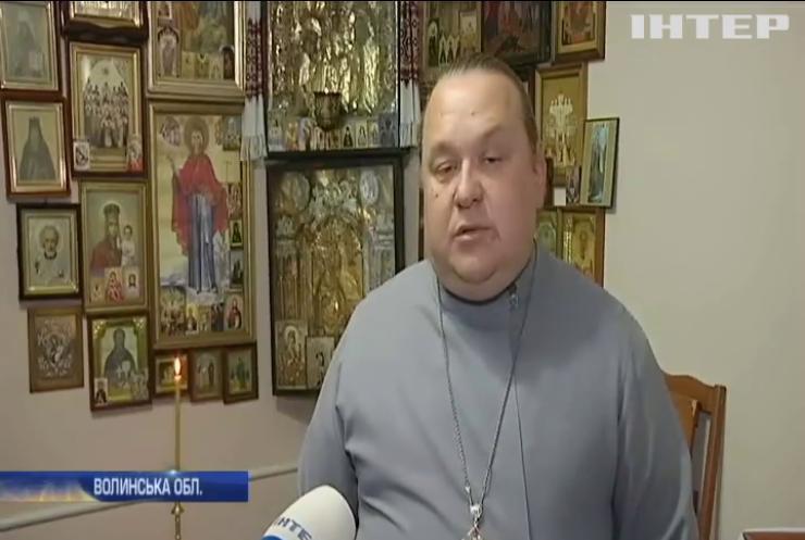 Релігійний погром: на Волині невідомі особи побили вікна у будинку священнослужителя УПЦ