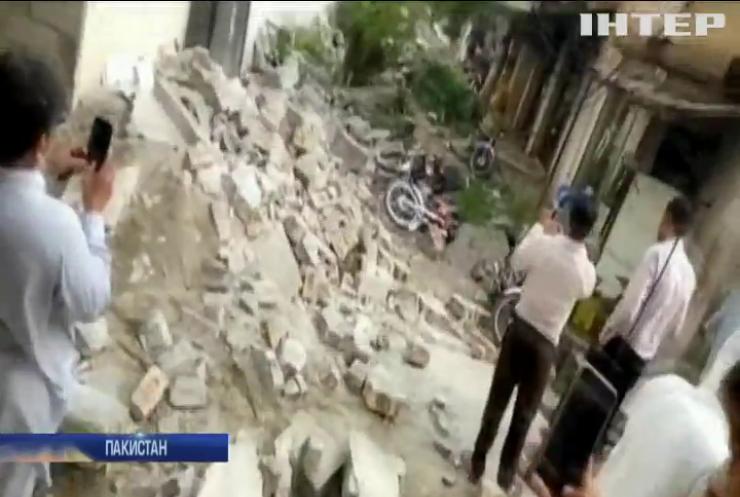 Масштабний землетрус у Пакистані: загинули люди