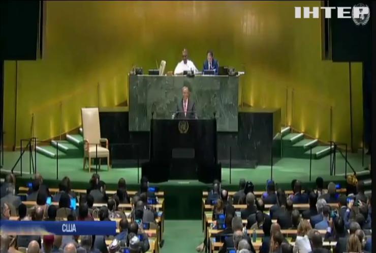 У Генасамблеї ООН виступить президент Володимир Зеленський