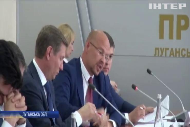 Відновити соціально-економічну структуру: депутати-мажоритарники вимагають навести лад на Луганщині