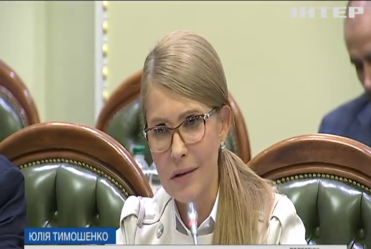 Юлія Тимошенко закликала вирішити долю ринку землі на рефередумі