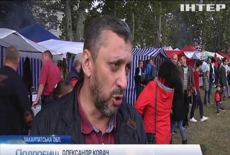 """""""Бобовищанське гроно"""": винороби Закарпаття влаштували традиційний фестиваль"""