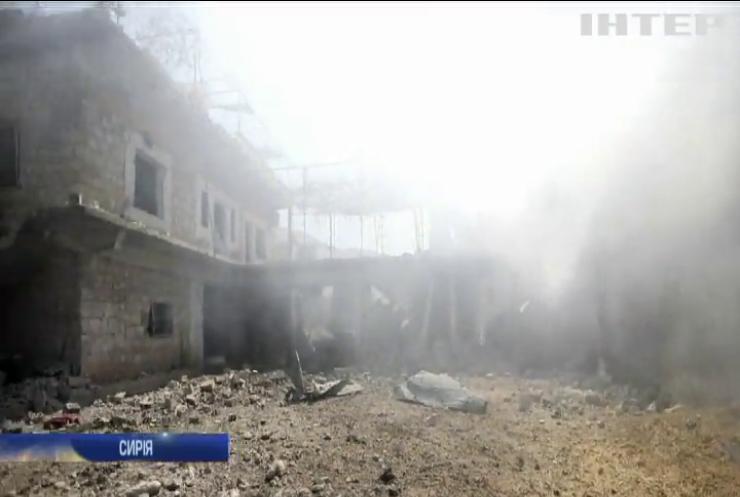 У Сирії від початку російської воєнної операції загинули тисячі людей