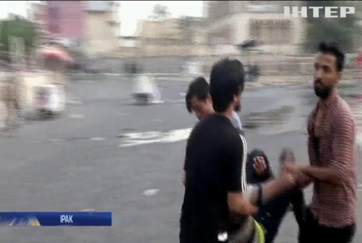 Масові протести в Багдаді: поліція застосувала бойову зброю