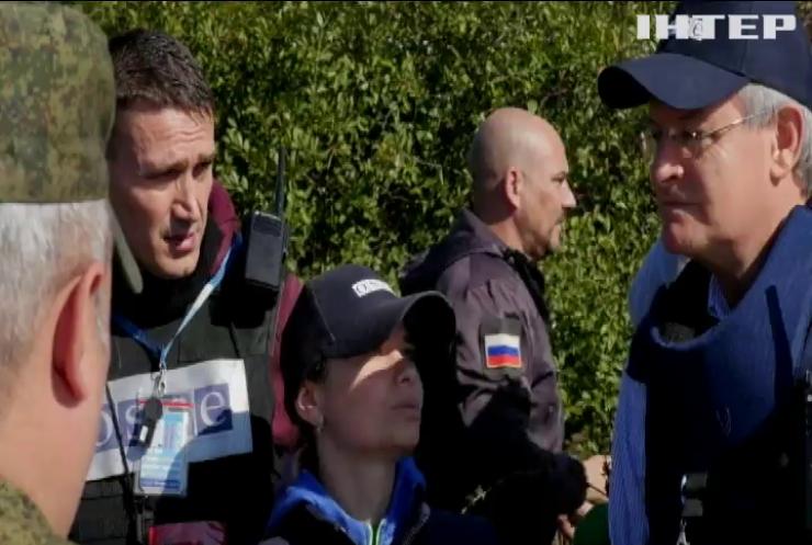 Бойовики не пропускають спостерігачів ОБСЄ на підконтрольну їм територію