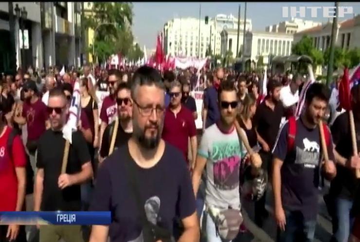 У Греції припинили роботу всі школи, банки та громадський транспорт
