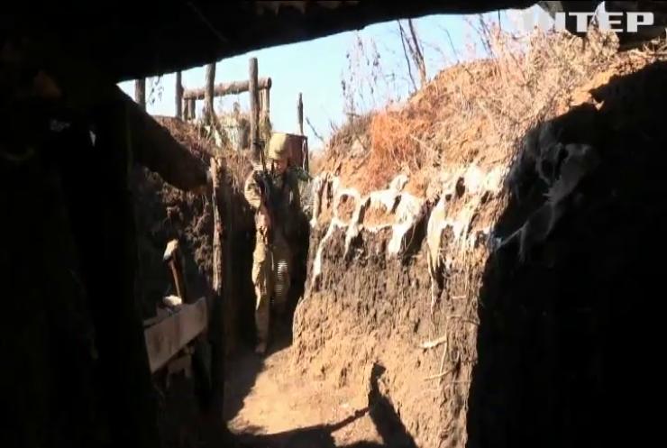 На Донбасі зросла кількість ворожих атак