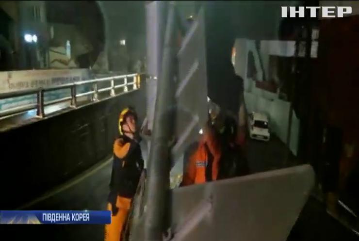 """Тайфун """"Мітаг"""" накоїв лиха у Південній Кореї"""