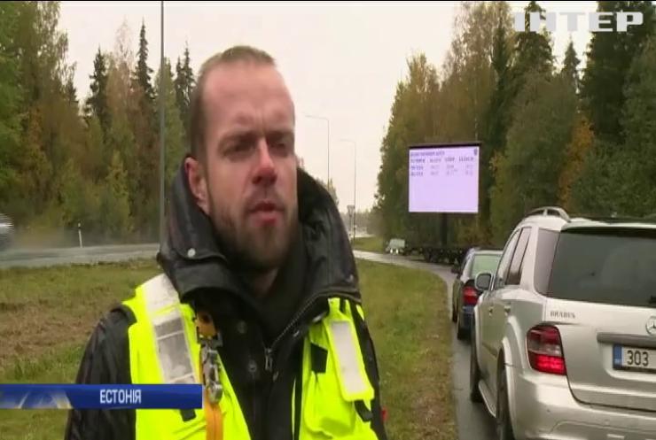 В Естонії водіїв-порушників каратимуть часом