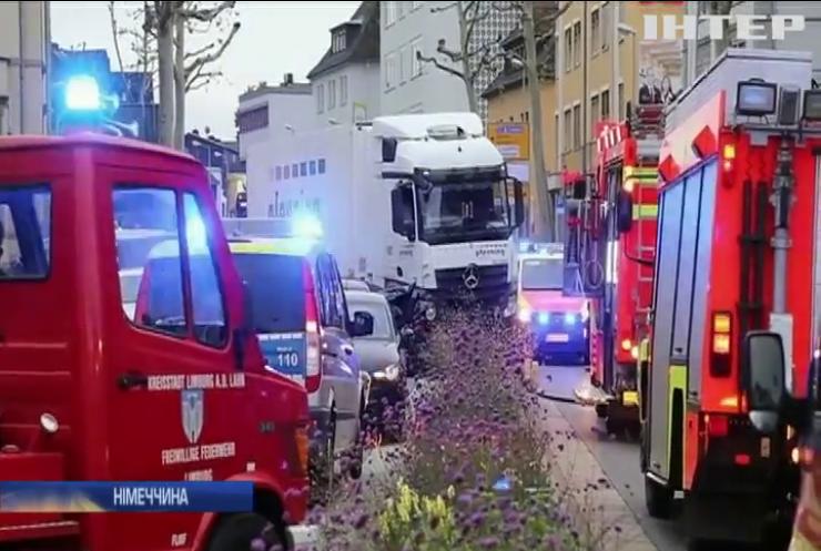 Німецька поліція вивчає всі версії інциденту, який стався в місті Лімбург