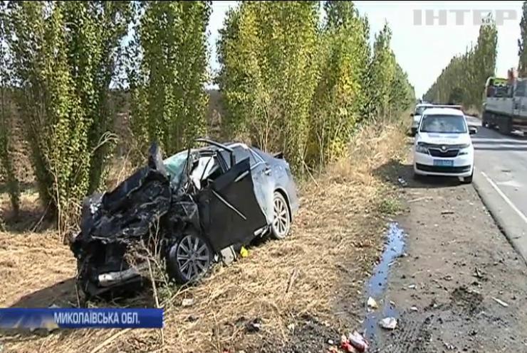 Моторошна ДТП на Миколаївщині: загинули два керівники поліції