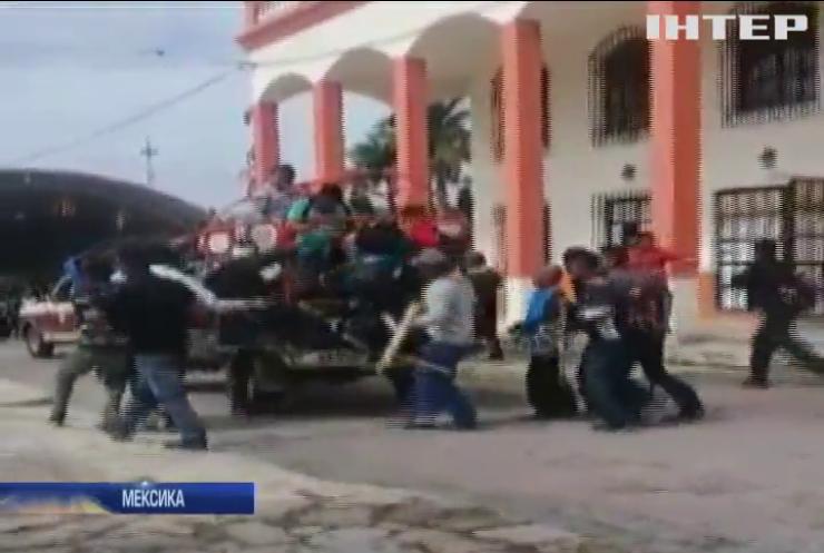 У Мексиці мера міста прив'язали до автівки й волочили вулицями