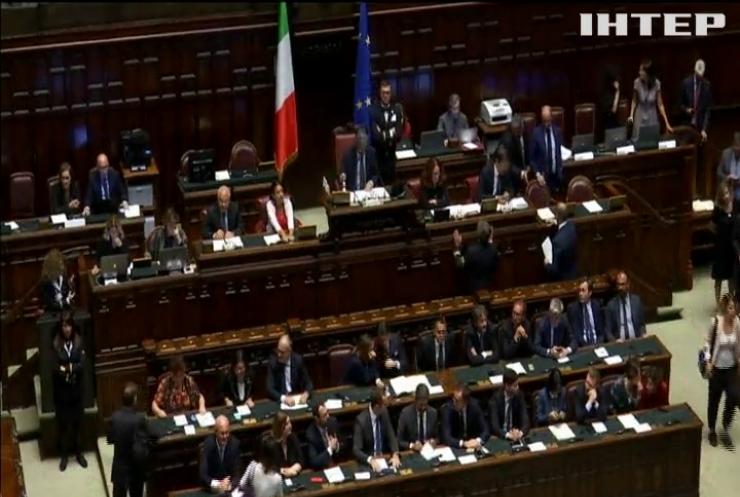 Парламент Італії схвалив скорочення кількості депутатів