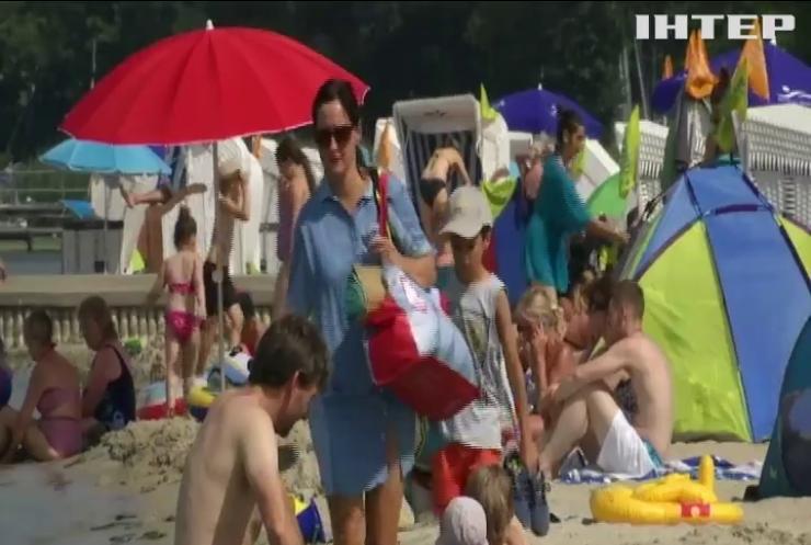 Європа встановила чотириста температурних рекордів за літо