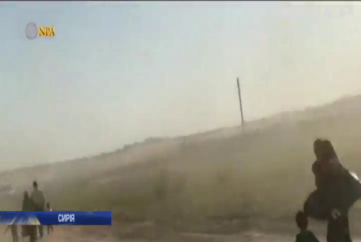 Війна у Сирії: турецька армія завдала удару по курдам