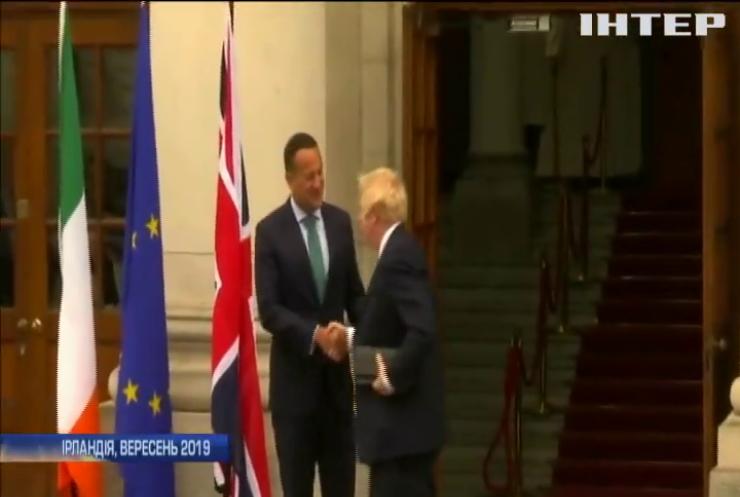 """Борис Джонсон вирішуватиме долю """"брекзиту"""" на перемовинах у Ірландії"""
