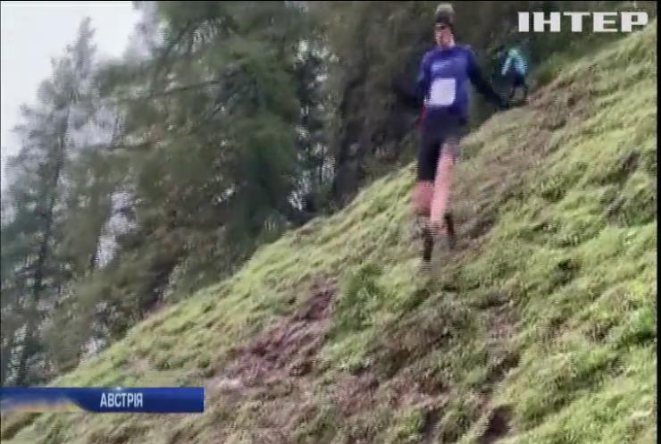 В Австрії провели екстремальний забіг пагорбами