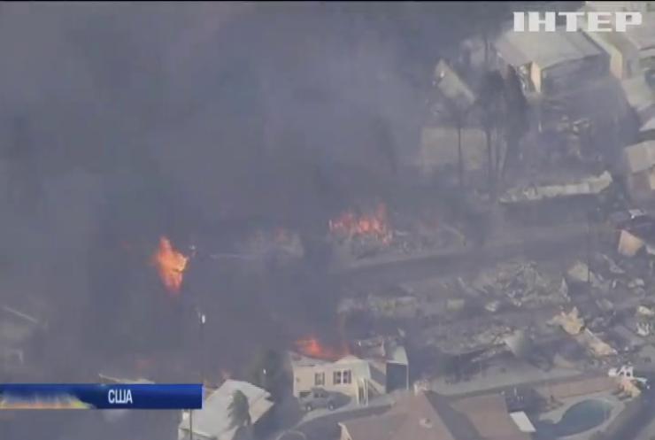 У Каліфорнії горять ліси: рятувальники не можуть локалізувати полум'я