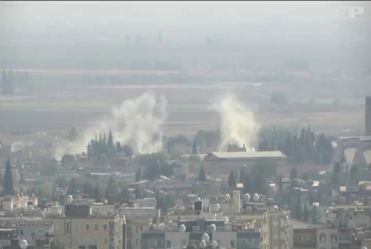 На півночі Сирії триває операція турецьких військ проти курдів