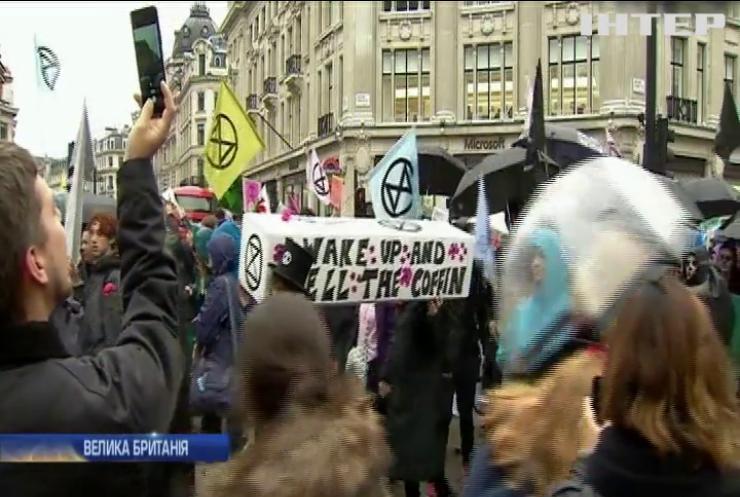 Кліматичні протести у Франції, Бельгії та Великій Британії скінчилися масовими арештами