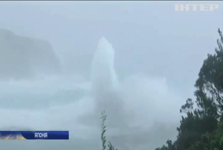 Японія потерпає від найпотужнішого за останні 60 років тайфуну