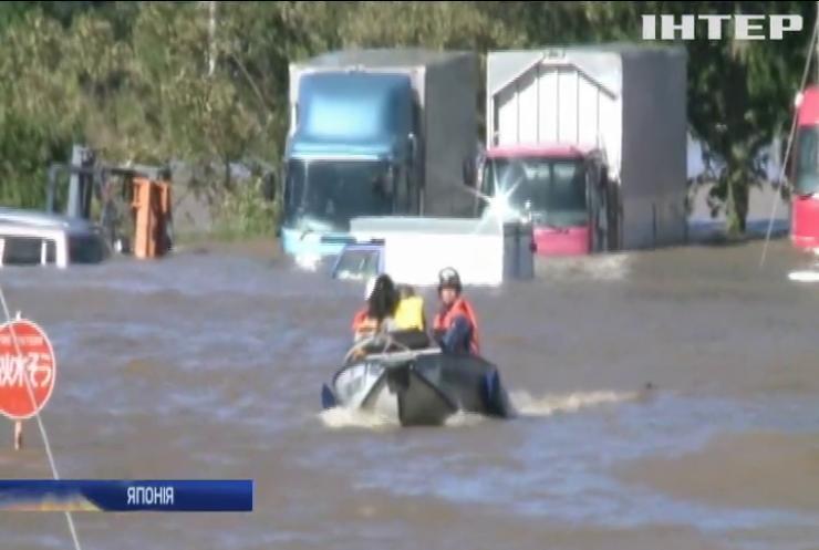 Негода у Японії: тайфун забрав життя 20 людей