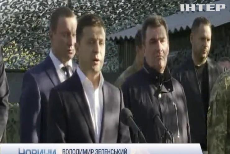 Президент України з дружиною поклали квіти до Стіни пам'яті полеглих за Україну