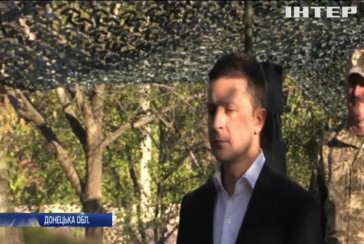 День захисника України: Володимир Зеленський приїхав на передову привітати бійців