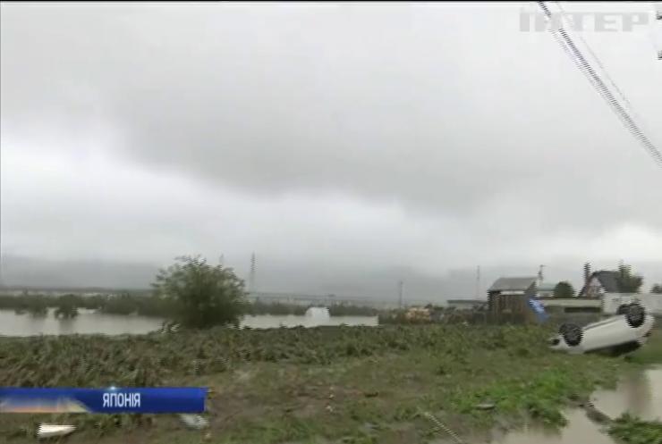 """У Японії збільшується кількість жертв потужного тайфуну """"Хагібіс"""""""