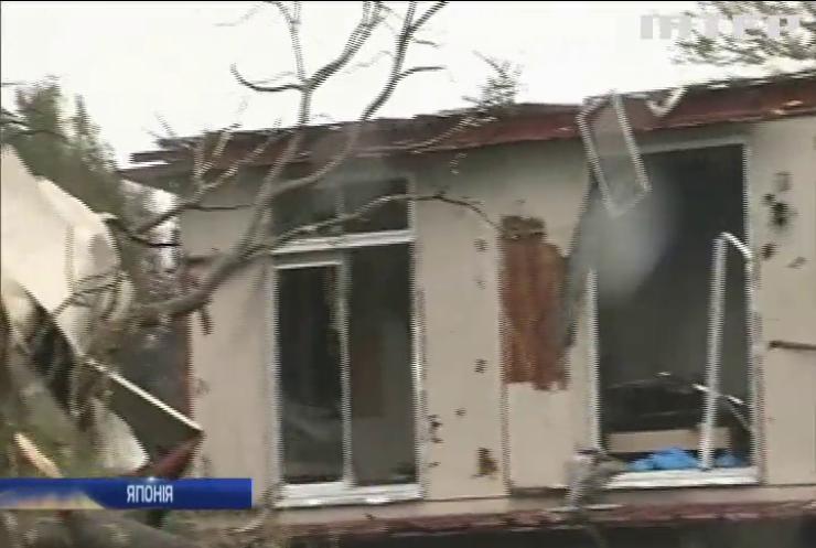 В Японії збільшується кількість жертв потужного тайфуну