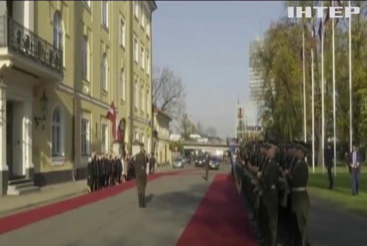 Володимир Зеленський прибув з офіційним візитом до Латвії