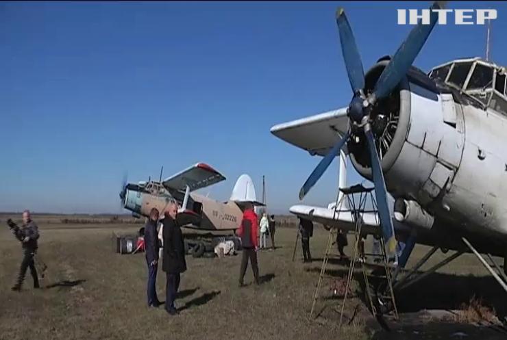 На Кіровоградщині з літаків скидують м'ясо із вакцинами від сказу