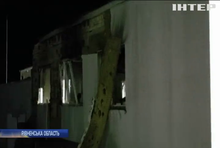 На Рівненщині стався вибух на хімічному заводі