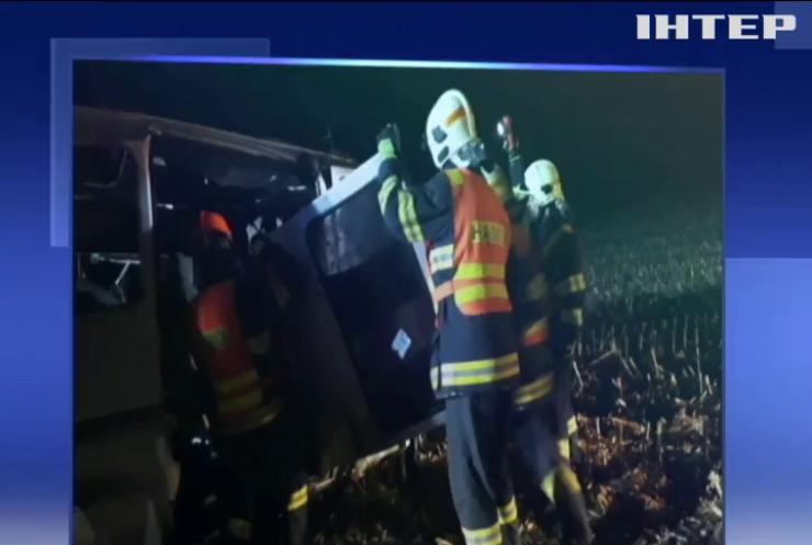 У Чехії потрапив у ДТП автобус з українськими заробітчанами