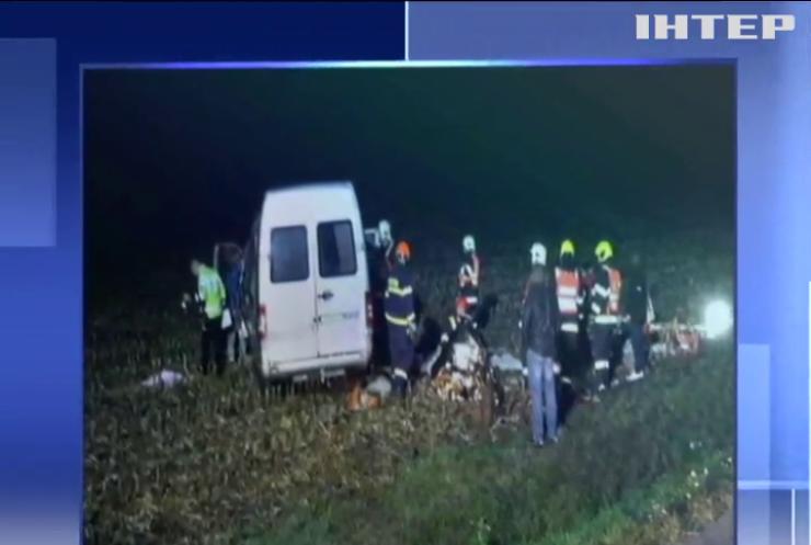 У Чехії розбився автобус із заробітчанами
