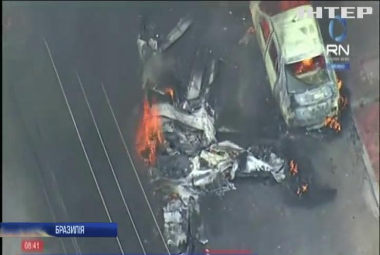 У Бразилії розбився літак с пасажирами