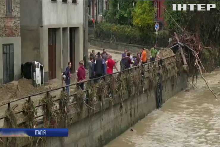 На півночі Італії двоє людей стали жертвами повені