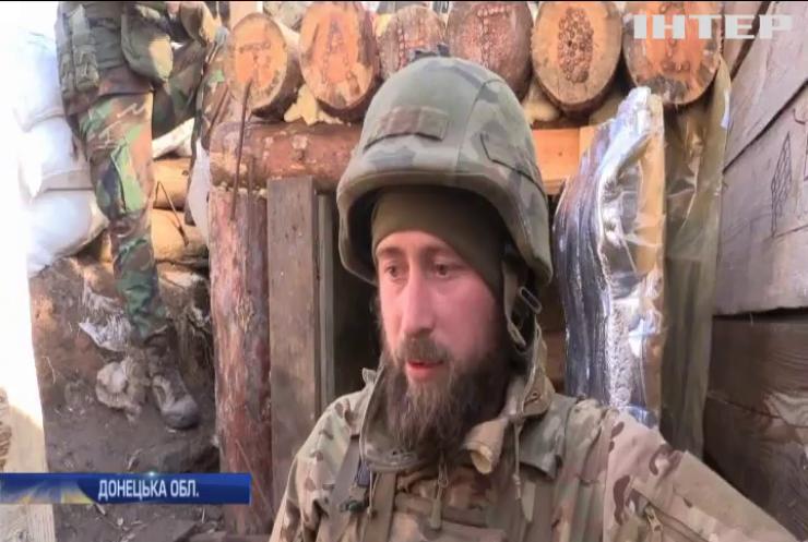 Біля Дебальцевого противник намагається виявити вогневі позиції військових